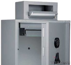 Wertheim AG-03 LBE páncélszekrény bedobónyílással