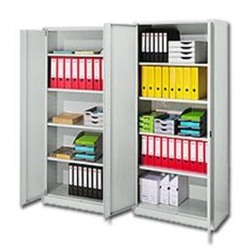 Fém irattároló szekrények