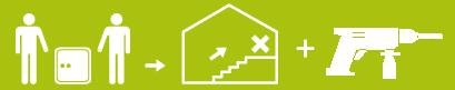 Szállítás épületen belüli elhelyezéssel + rögzítés, telepítés